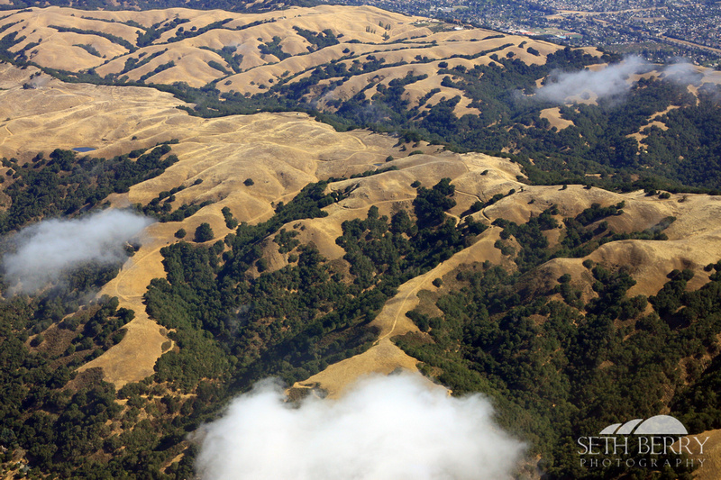 Golden Hills from Above