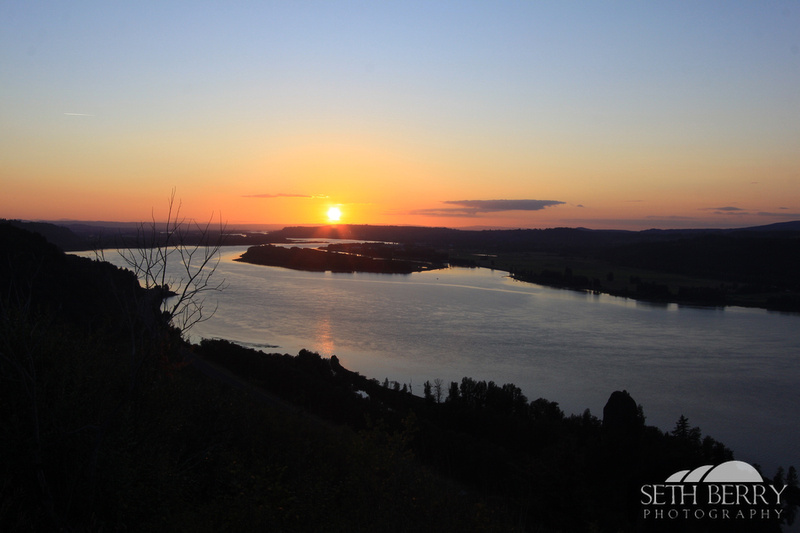 Crown Point Sunset 1