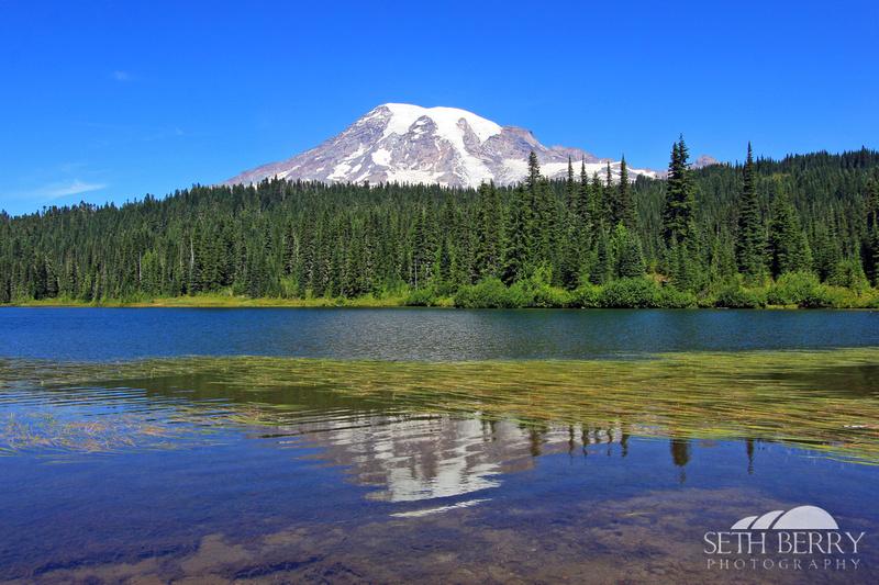 Reflection Lakes, Mt. Rainier