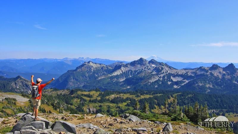 Panorama Point, Mt. Rainier