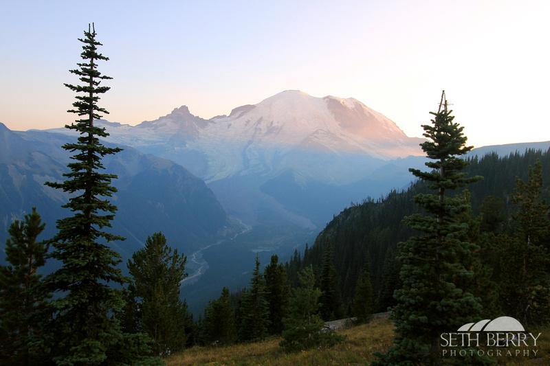 Mt. Rainier Sunset