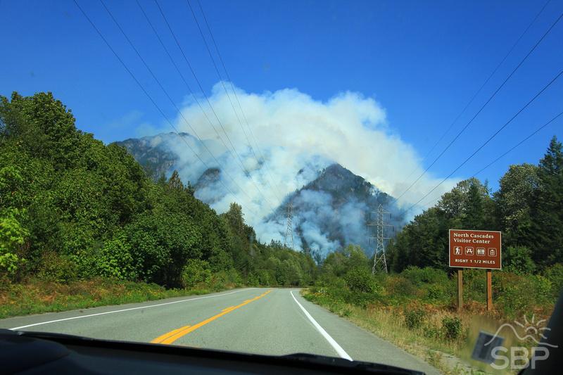 North Cascades Fire
