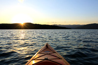 Evening Paddle on Jocassee