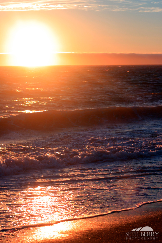 California Pacific Coast Sunset