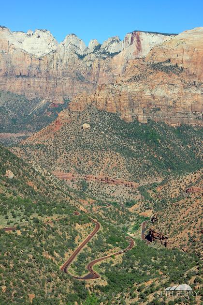 Zion Canyon Overlook 14