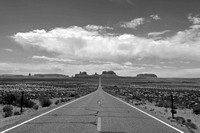 Mile Marker 13 | Monument Valley 5 B&W