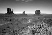 Monument Valley B&W 1