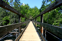 Benton Mackaye Trail Suspension Bridge
