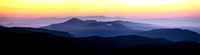 A Blue Ridge Mountain Sunrise