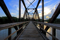 Palmetto Trail Bridge Sunset 2