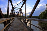 Palmetto Trail Bridge Sunset 1