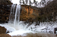 Toccoa Falls Winter