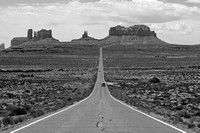Mile Marker 13 | Monument Valley 4 B&W
