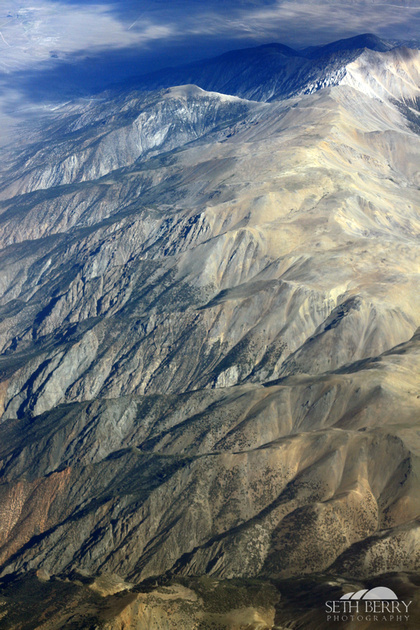 Desert Mountains from Above