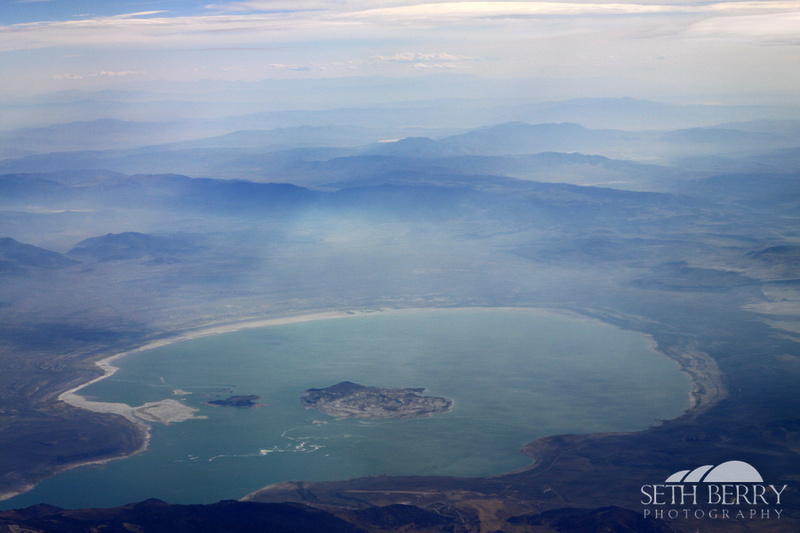 Mono Lake from Above