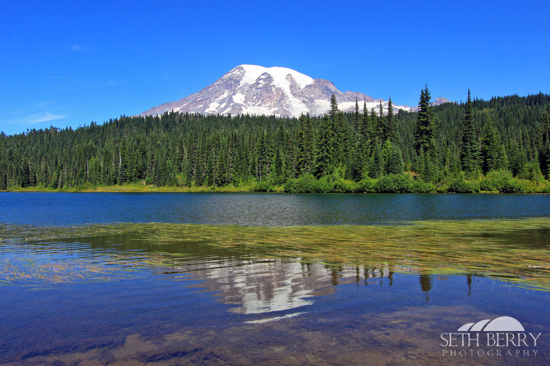 Reflection Lakes, Mt. Rainier
