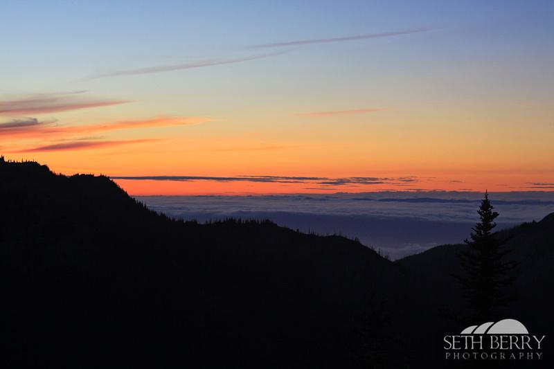 Hurricane Ridge Sunset