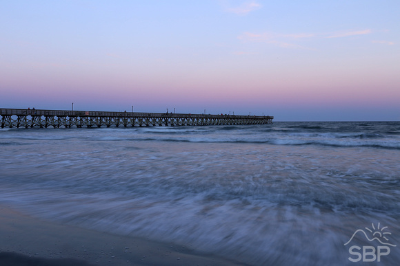 North Myrtle Beach Pier Sunset