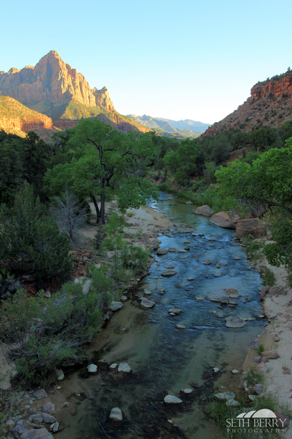 The Watchman Sunset 1