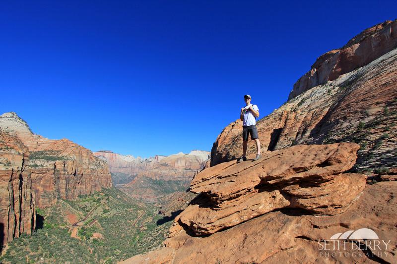 Zion Canyon Overlook 5