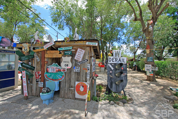 Route 66 Outhouse