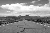 Mile Marker 13 | Monument Valley 2 B&W