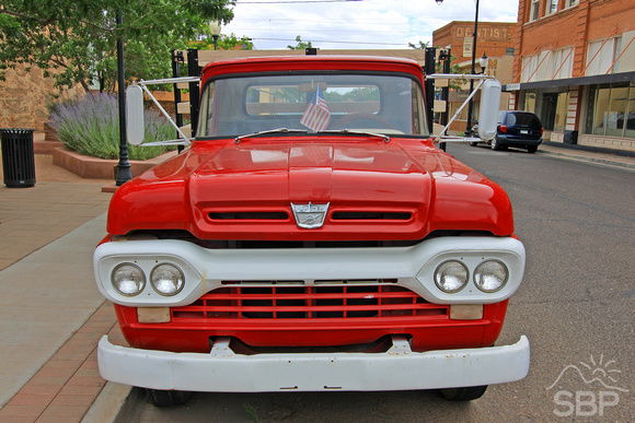 Winslow, AZ Red Pickup